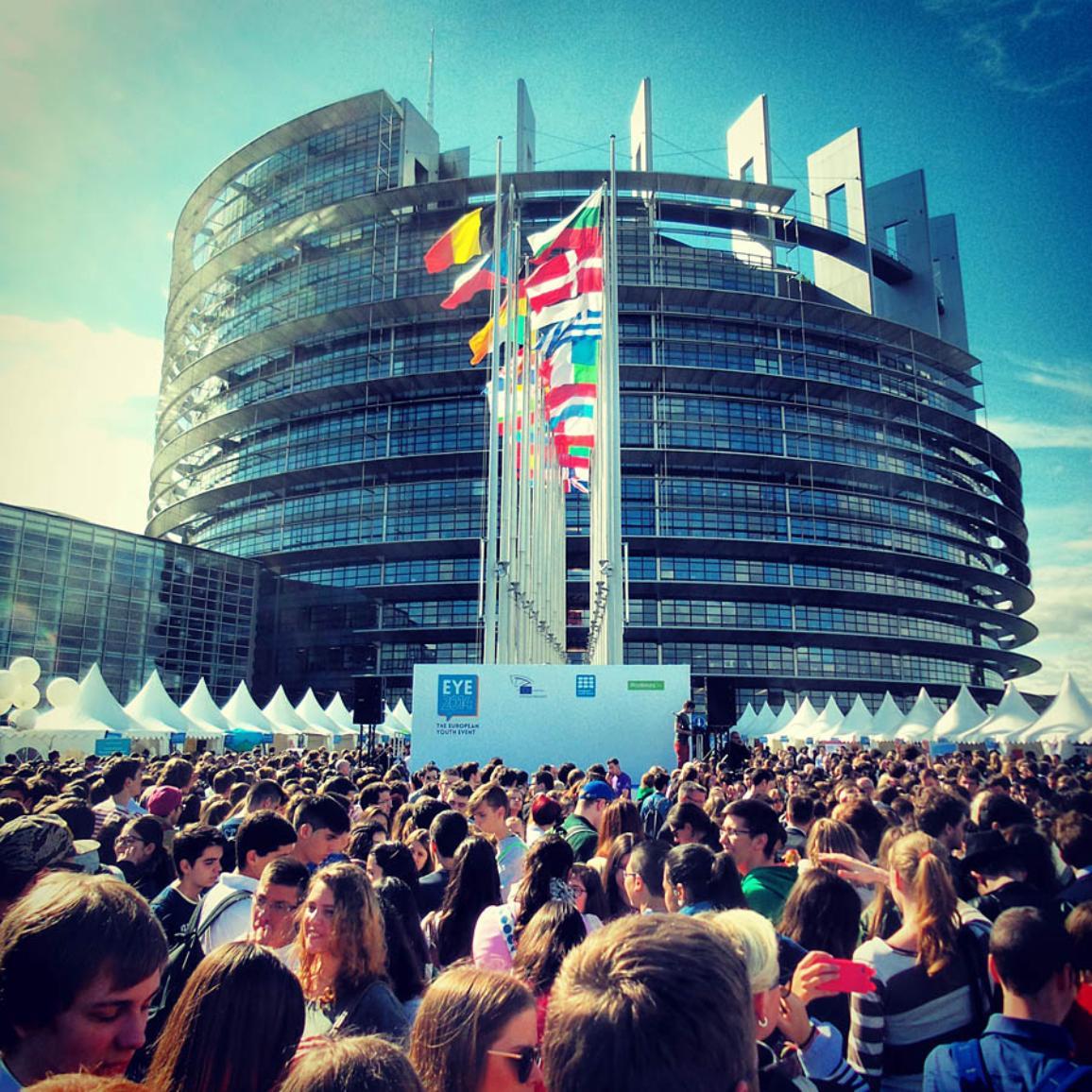EYE 2014 opening ceremony in Strasbourg