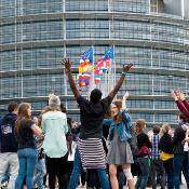 In May 2014 the Parliament building in Strasbourg hosted the European Youth Event 2014 (#EYE 2014), a unique opportunity for the next generation to generate ideas, discuss opinions and set the agenda for tomorrow's Europe!