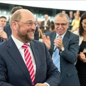 Martin Schulz re-elected President of the European Parliament