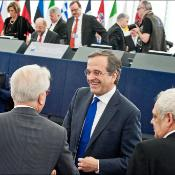 Debate on priorities of the incoming Greek Presidency of the Council with Prime Minister Antonis Samaras and Commission President Manuel Barroso