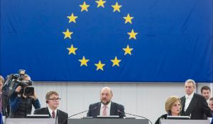 EP President Martin Schulz opens December plenary session