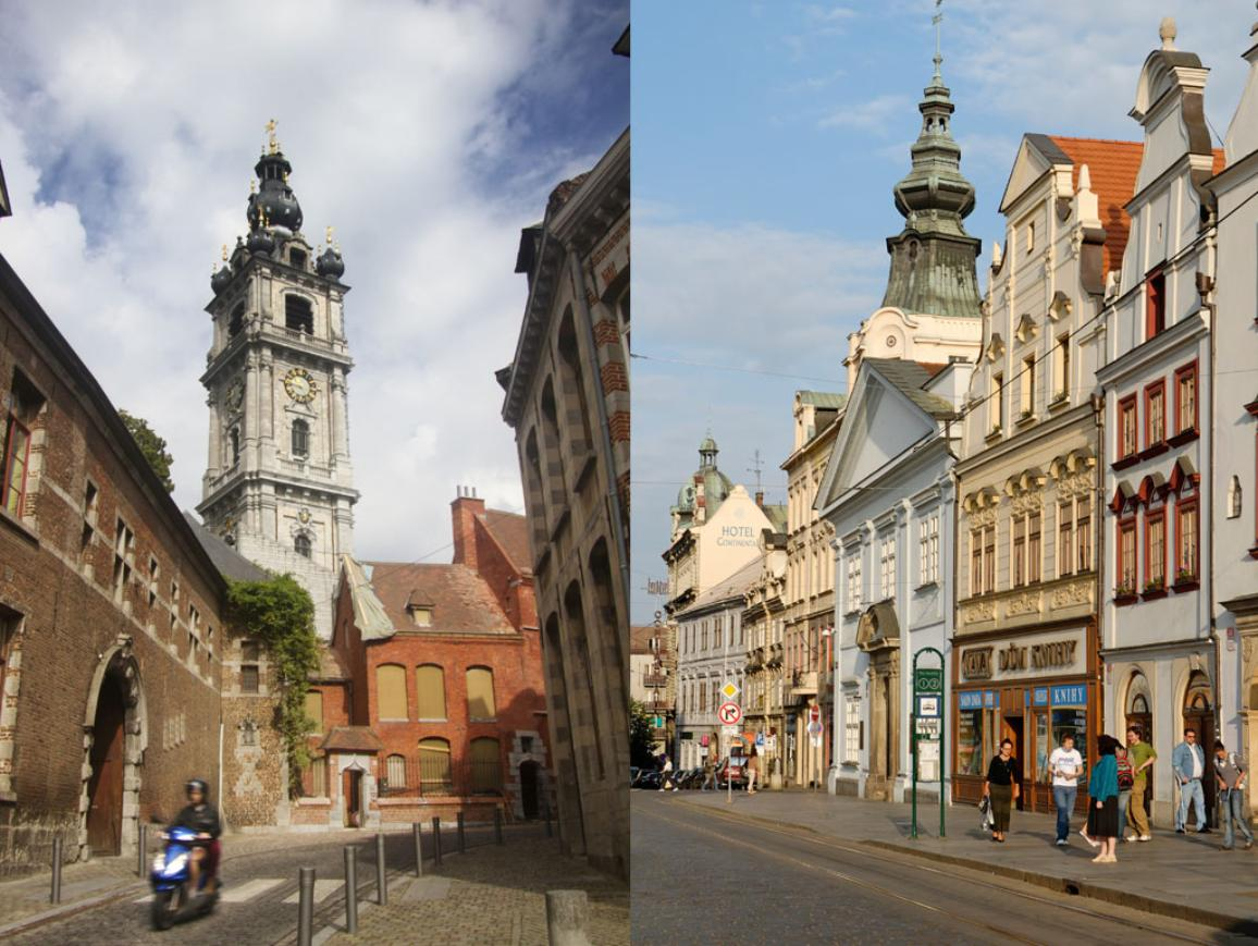 EU capitals of culture 2015 Mons and Plzeň