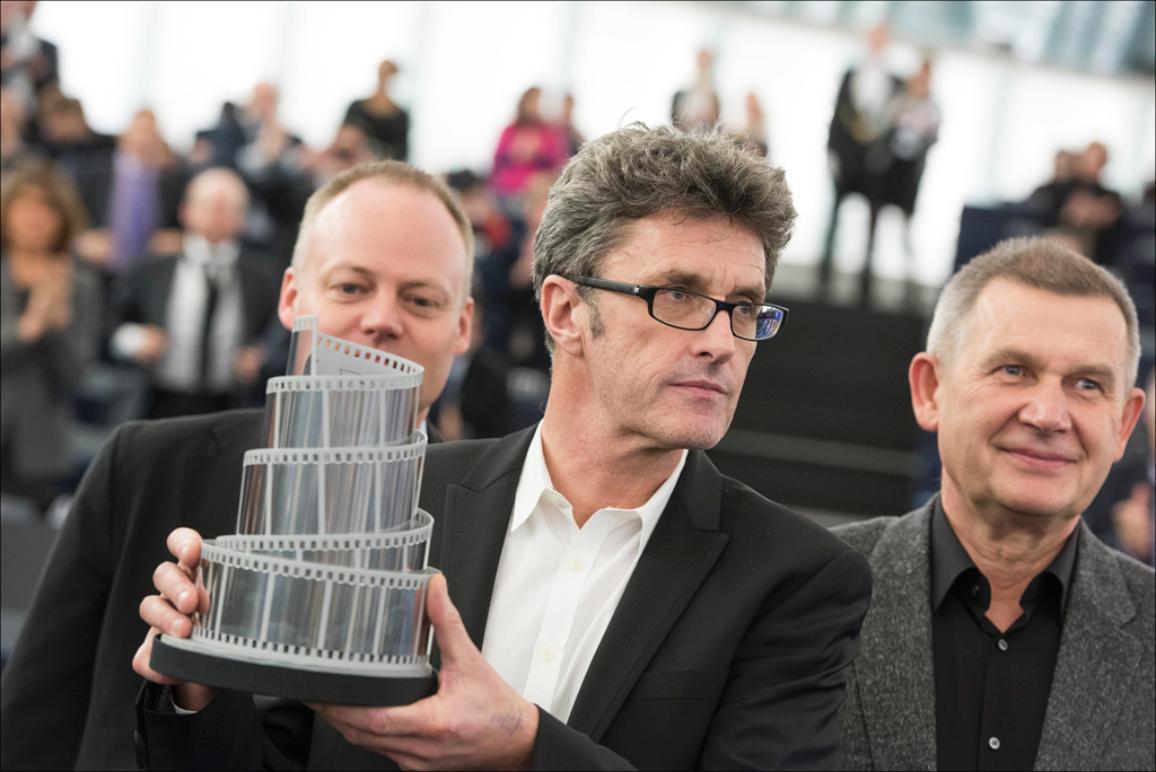 "Paweł Pawlikowski reçoit le Prix Lux pour son film ""Ida"""