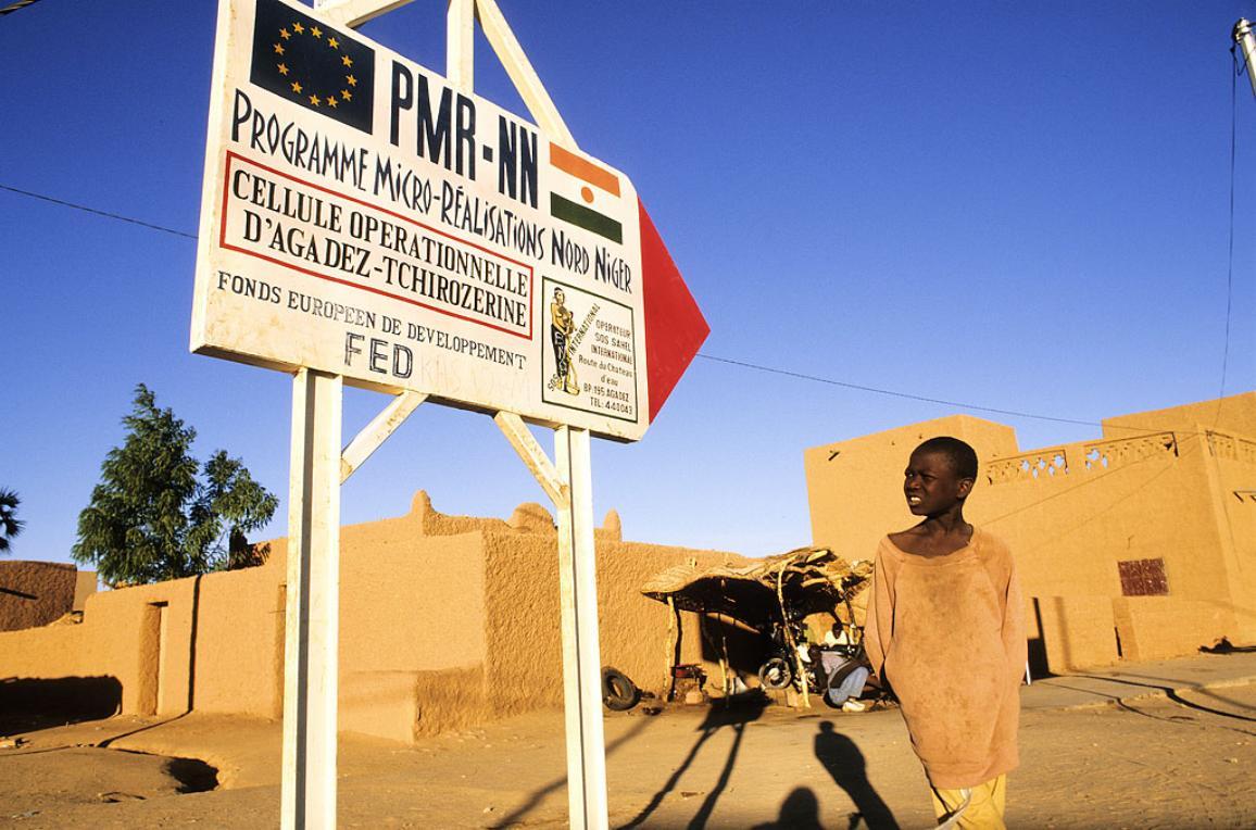 Photo prise au Niger