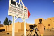 Niger, Agadez, aid of the European Development Fund (EDF)
