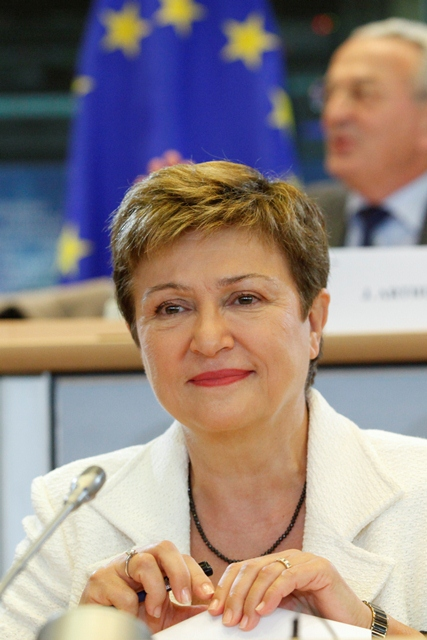 Commissioner Georgieva