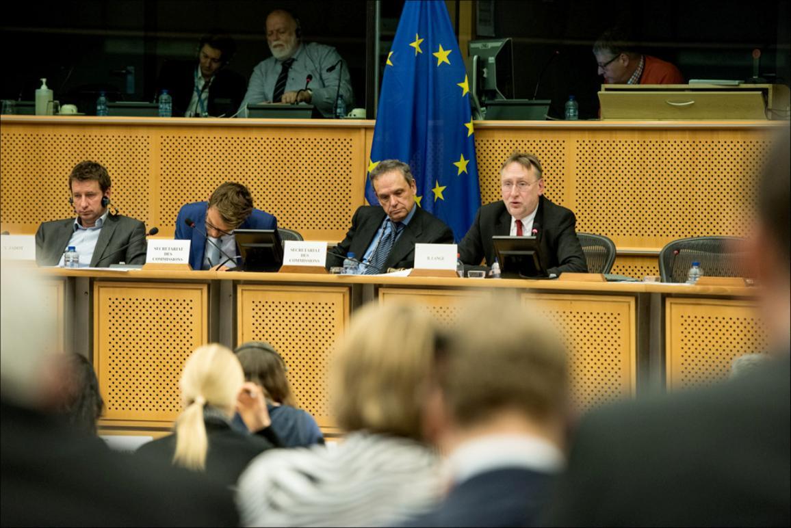 European Parliament Committee on International Trade INTA chair Bernd Lange