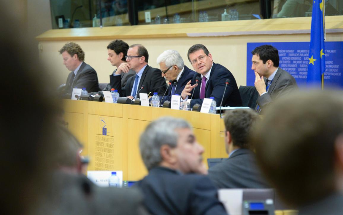 Extraordinary meeting of the ITRE Committee: Creation of a European Energy Union, Presentation by the Vice-President of the Commission for Energy Union Maros Sefcovic