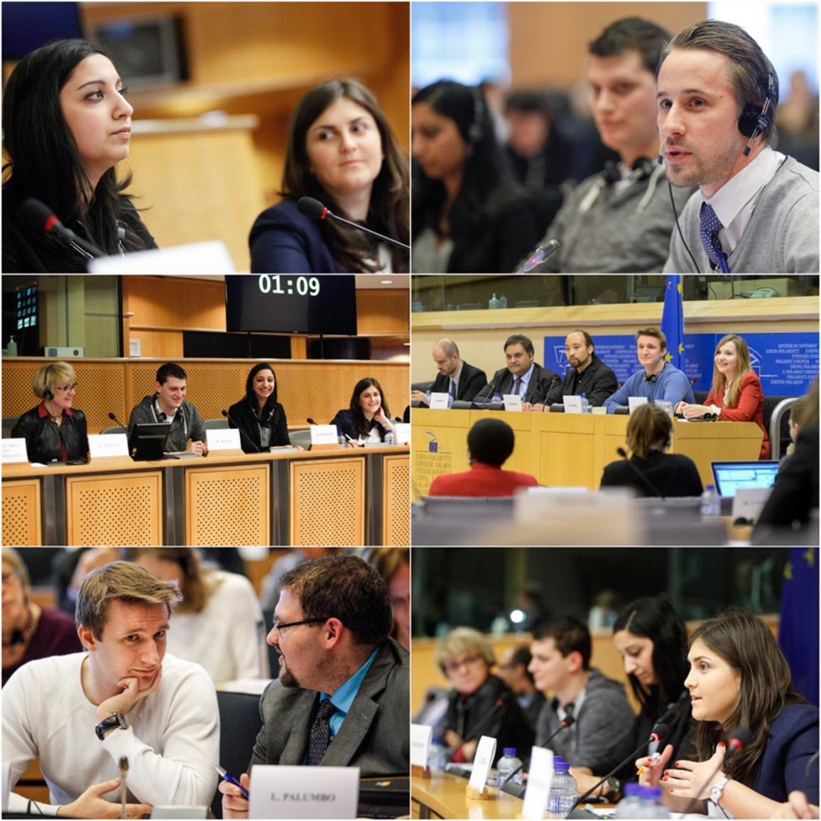 EYE hearings at the European Parliament in Brussels