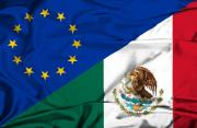 Photo of EU and Mexico flags
