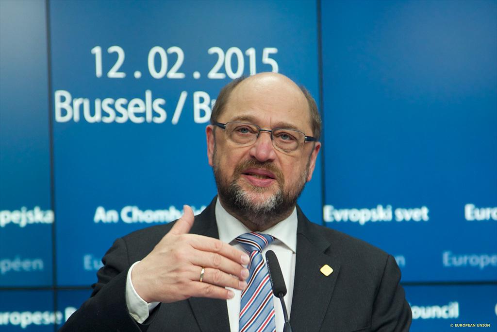 Schulz hemos sido llamados a proteger a los europeos de for Presidente del consejo europeo