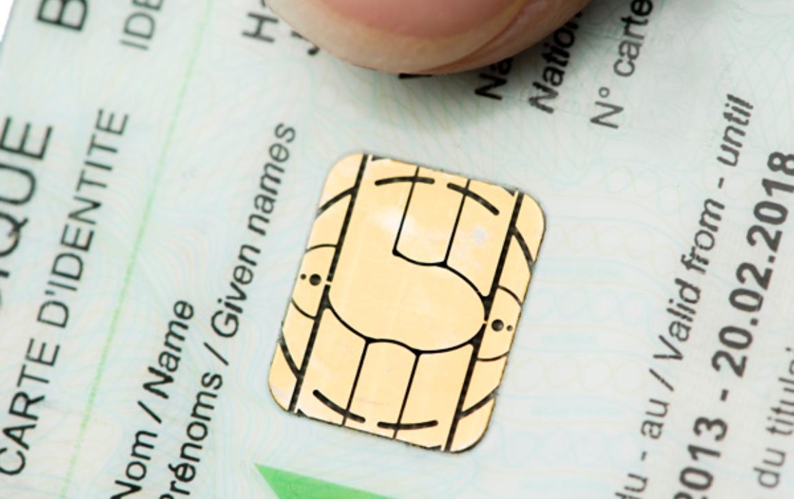 A belgian identity card. ©BELGA/J.Hamers
