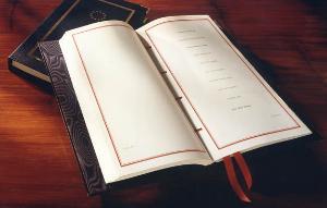 Ühtse Euroopa akti allkirjade lehekülg.