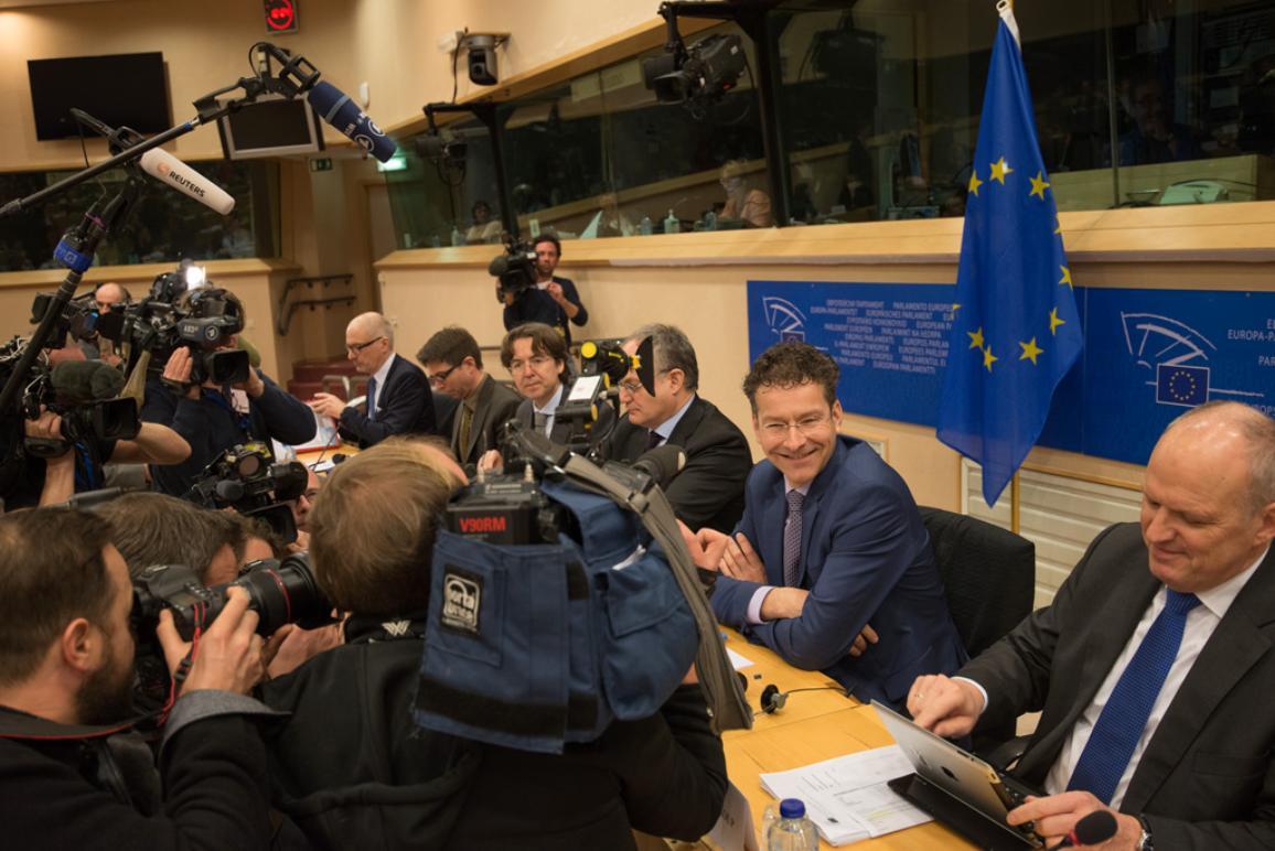 J. Dijsselbloem at ECON debate _