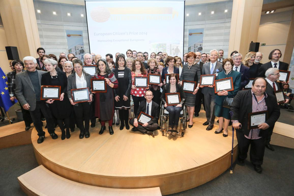 2014 European Citizen's Prize laureates