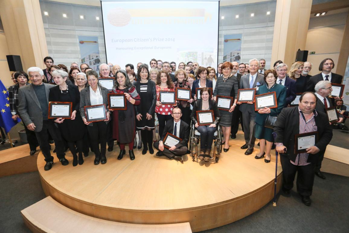2014 European Citizen's Prize laureates