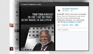 "LinkedIn ""advise your MEP"" campaign with Nirj Deva"