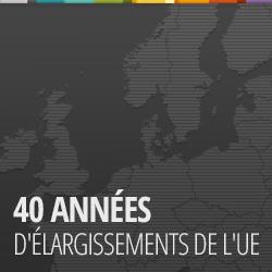 40 années d'élargissement européen