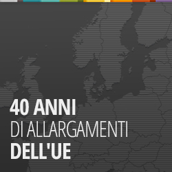 40 anni di allargamenti dell'UE