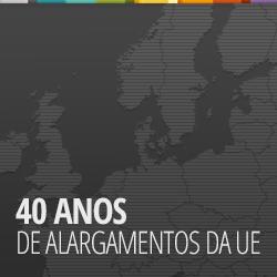 40 anos de alargamento da ue
