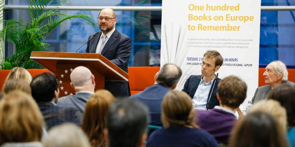 "EPRS ""100 books on Europe to remember"" opening ceremony with EP President Martin Schulz"