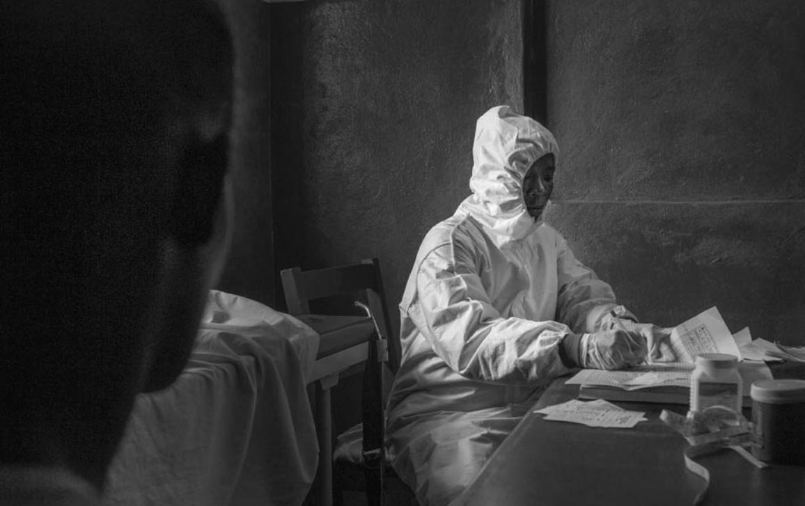 Health workers who are risking their lives to do their jobs doing their fight against Ebola