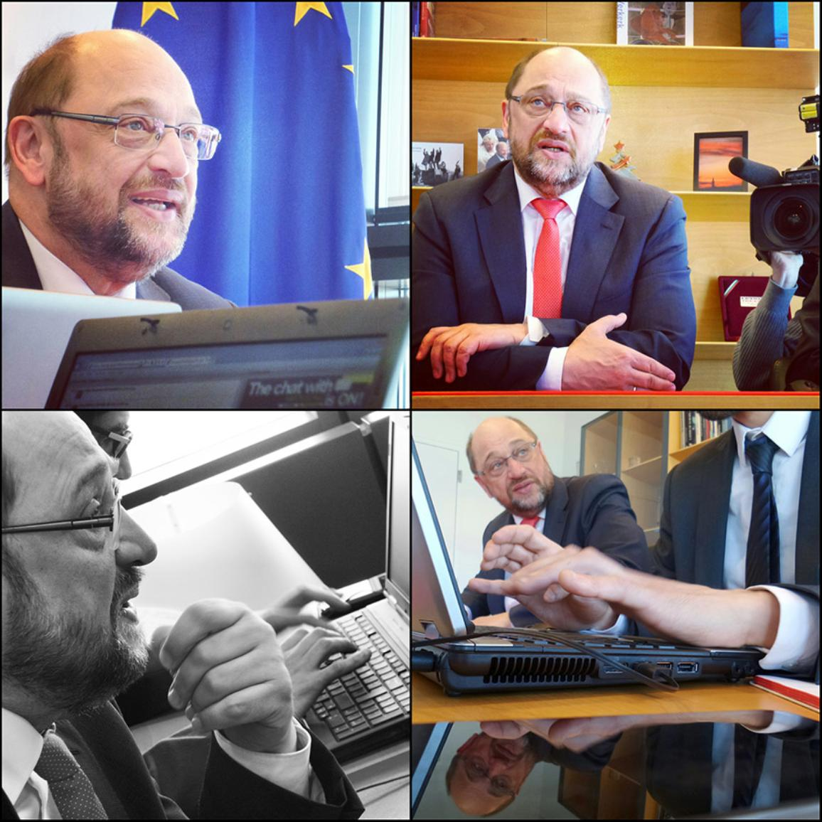 Facebook chat write-up with European Parliament President Martin Schulz