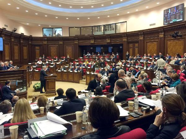 Euronest Parliament Assembly in Yerevan