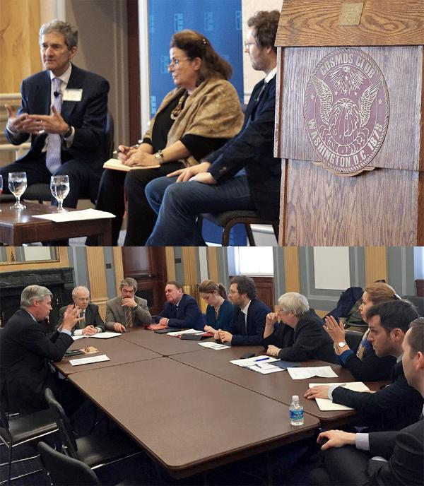 Members of the EP Civil Liberties, Justice and Home Affairs (LIBE) Committee visited Washington, D.C. last week to meet with their American counterparts