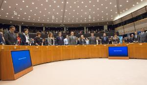 One minute silence at EP plenary_