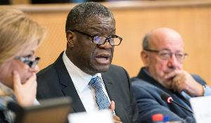 Subcommittee on Human Rights (DROI) of the European Parliament exchange of views with Denis Mukwege, Sakharov Prize Laureate 2014
