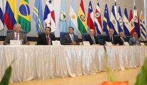 Apertura de la reunión ordinaria de EuroLat en Panamá.