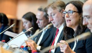 TTIP/ISDS: Commissioner Malmström debates with INTA Members the way forward  to resolve in the best manner disputes by foreign investors in the context of TTIP, known as Investor State Dispute Settlement (ISDS).