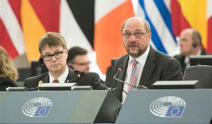 European Parliament President Martin Schulz opening remarks of May 2015 plenary session