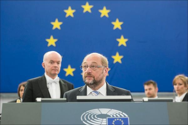 European Parliament President Martin Schulz opened today debate on migration