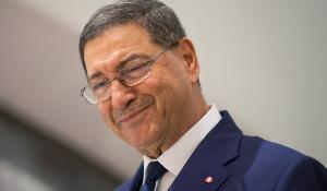 Portrait d'Habib Essid