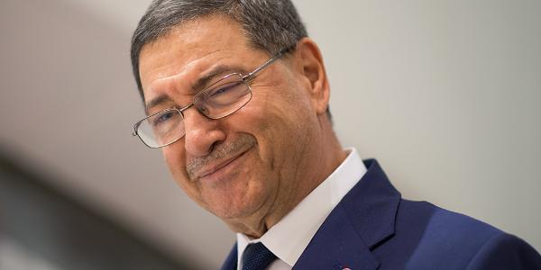 Tunisian PM Habib Essid