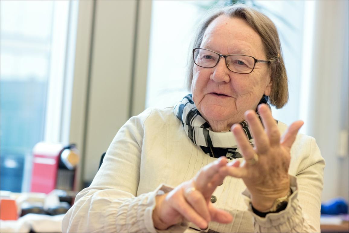 Interview with Marit Paulsen