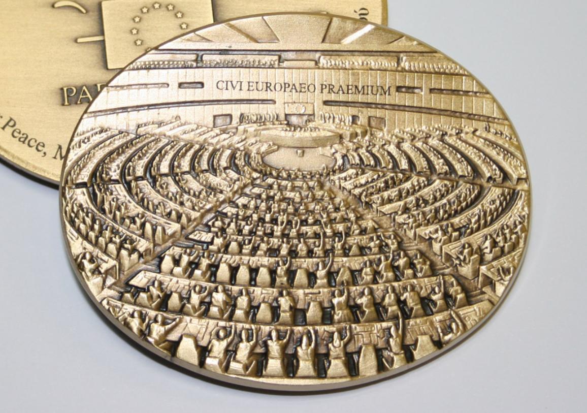 Medaille van de prijs