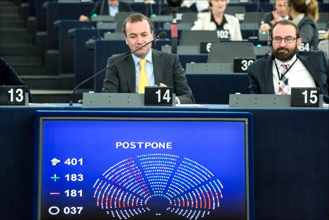 Debate on TTIP postponed