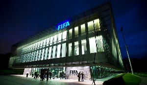 View at the World Soccer Association FIFA's headquarters is seen in Zurich. ©BELGA/AFP/S.DERUNGS