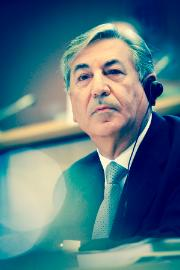 Karmenu Vella, Comissioner for Environment, Maritime Affairs and Fisheries.