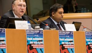 Data protection hearing: Bernd Lange and Claude Moraes