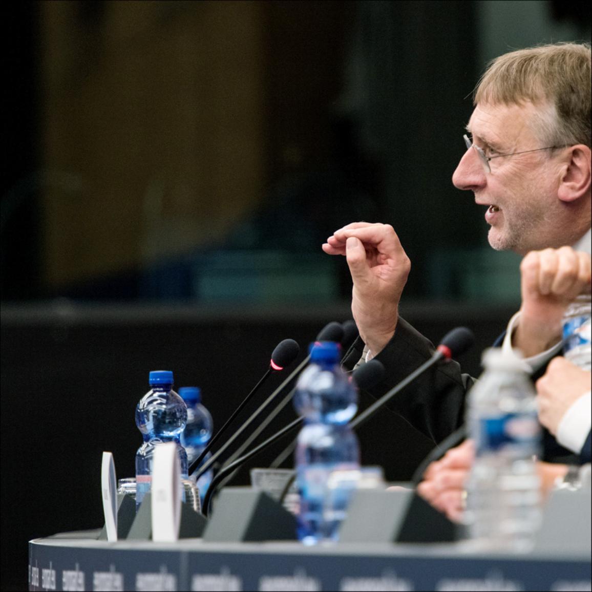 Press conference of Bernd Lange on the EU-US trade deal