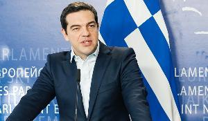 Tsipras at the European Parliament