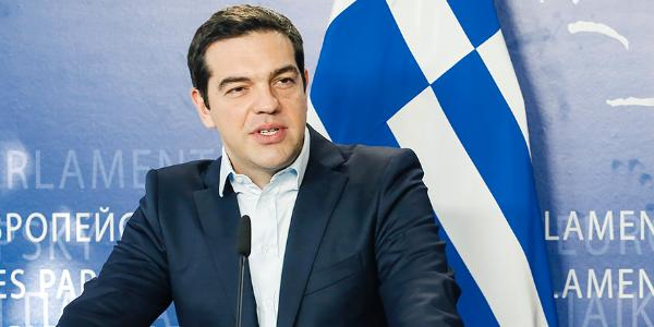 Tsipras at the European Parliament