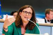 An image of Cecilia Malmström, European Commissioner for Trade