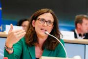 An image of Cecilia Malmström, European Commissioner for Trade