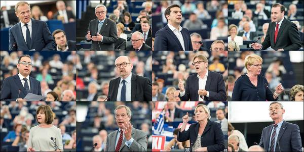 Debate on Greece where Greek PM Alexis Tsipras addressed the plenary.