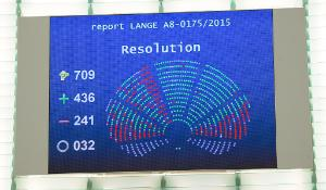 Final result of the vote on TTIP_